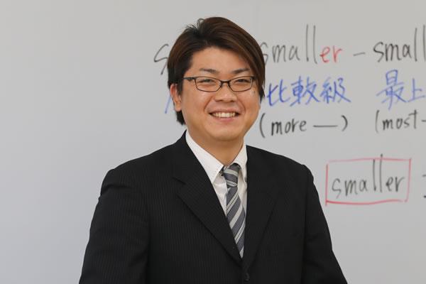 太田宝泉校 校舎長 入江 和憲